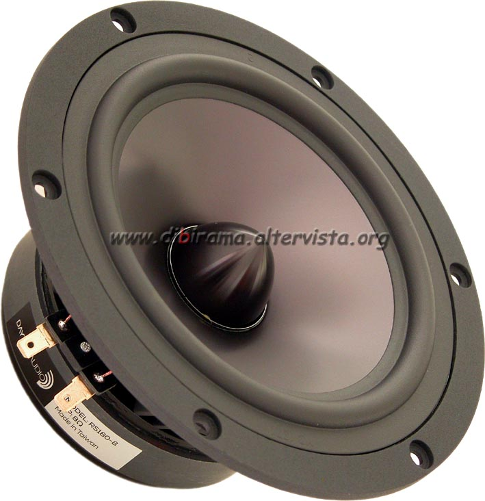 dayton audio rs180-8 front