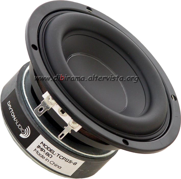dayton audio tcp115-8 front